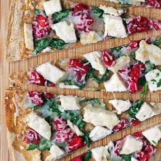 Turkey Cranberry Flatbreads