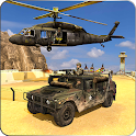 Helicopter Air Shooting Combat -Gunship Air Attack icon