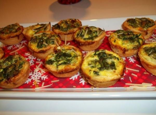 Mini Spinach Quiche Recipe