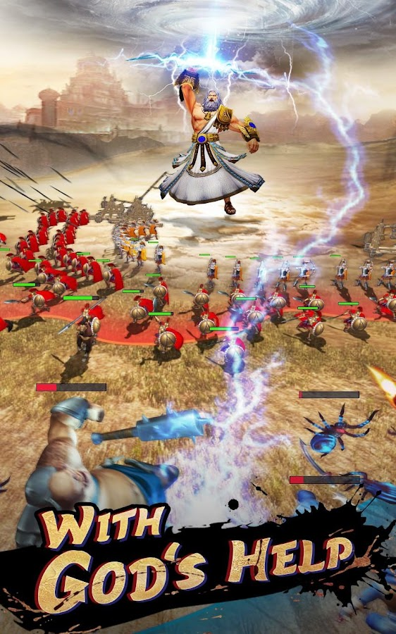 Screenshots of Spartan Wars: Blood and Fire for iPhone