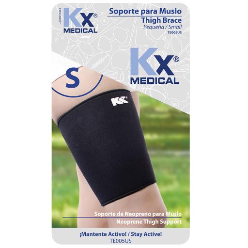 soporte neopreno kx para muslo talla p