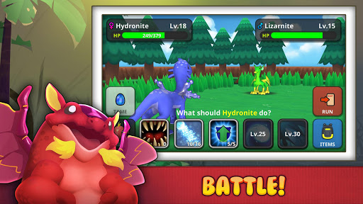 Drakomon - Battle & Catch Dragon Monster RPG screenshot 2