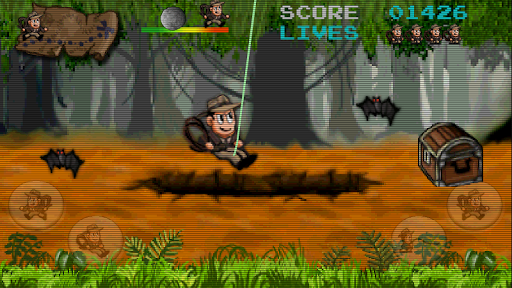 Retro Pitfall Challenge apkpoly screenshots 1