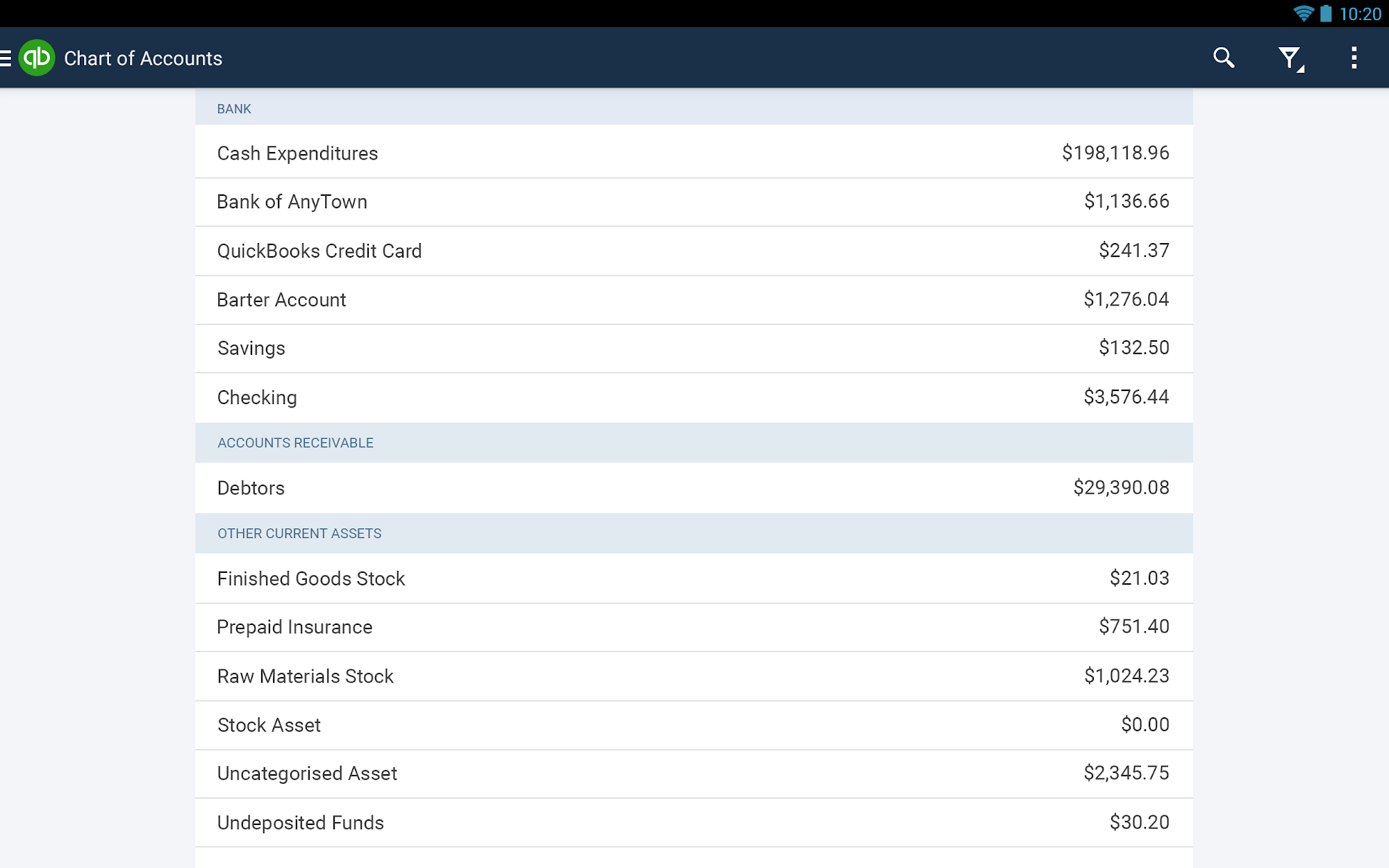 QuickBooks Accounting+Invoice screenshot #14
