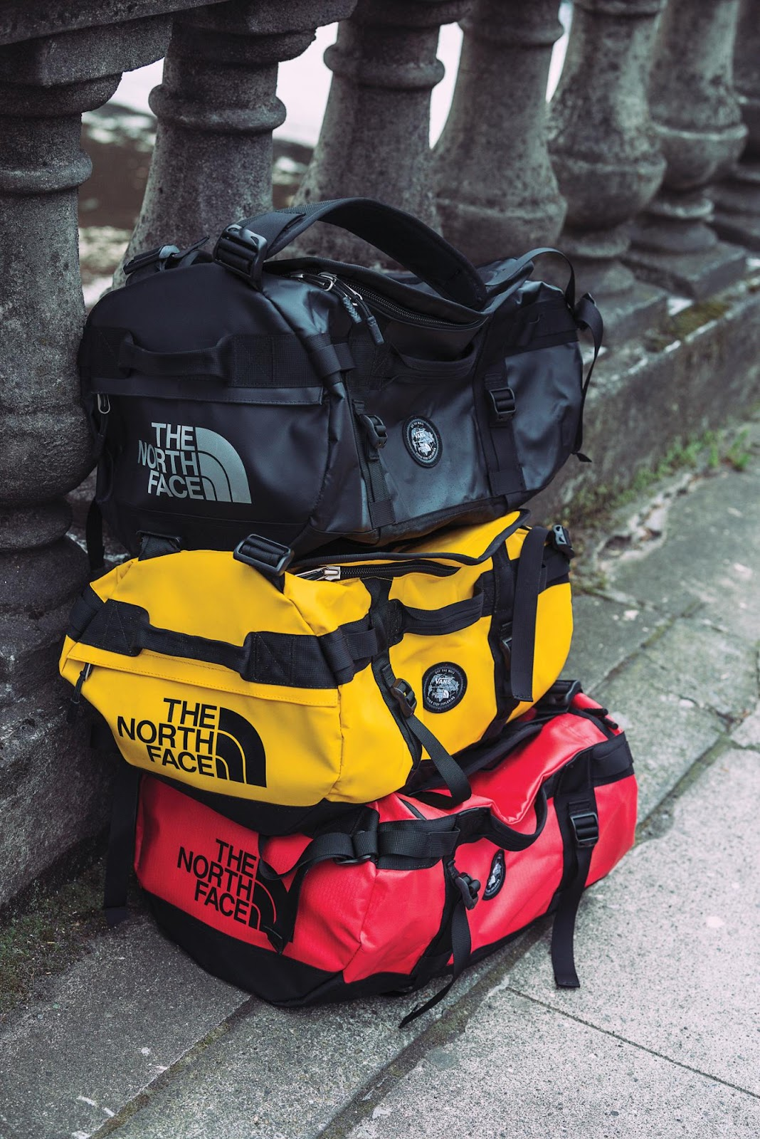 The Vans X TNF Base Camp Duffle Collection