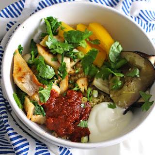 Chipotle Chicken Quinoa Bowls.