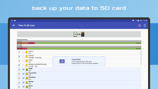 Files To SD Card screenshot 22