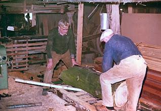 Photo: Albert Lanjouw en Roel Niemeijer, werkplaats Lanjouw
