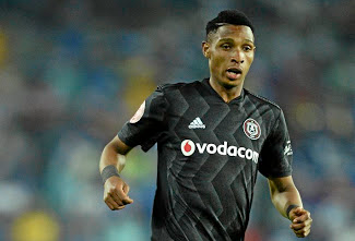 Striker Vincent Pule is in contention. Picture: BACKPAGEPIX/SAMUEL SHIVAMBU