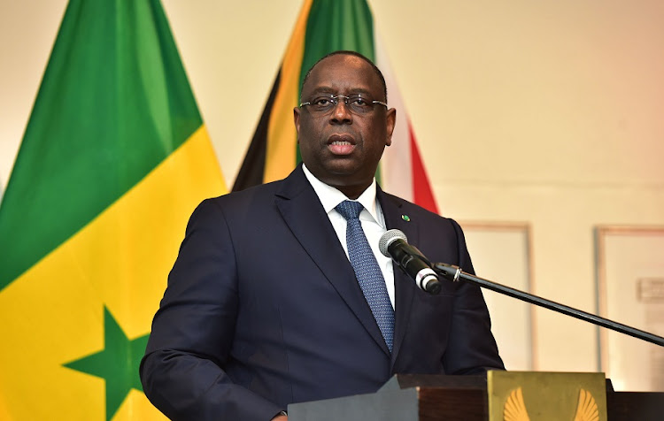 President Macky Sall. Picture: GCIS
