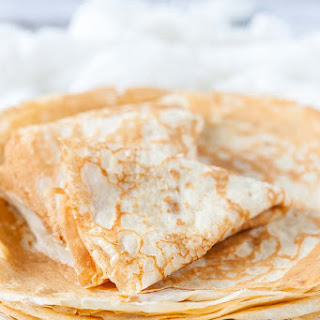 Traditional Russian Crepes Recipe