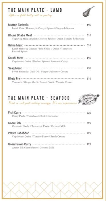 Moti Mahal Delux menu 14