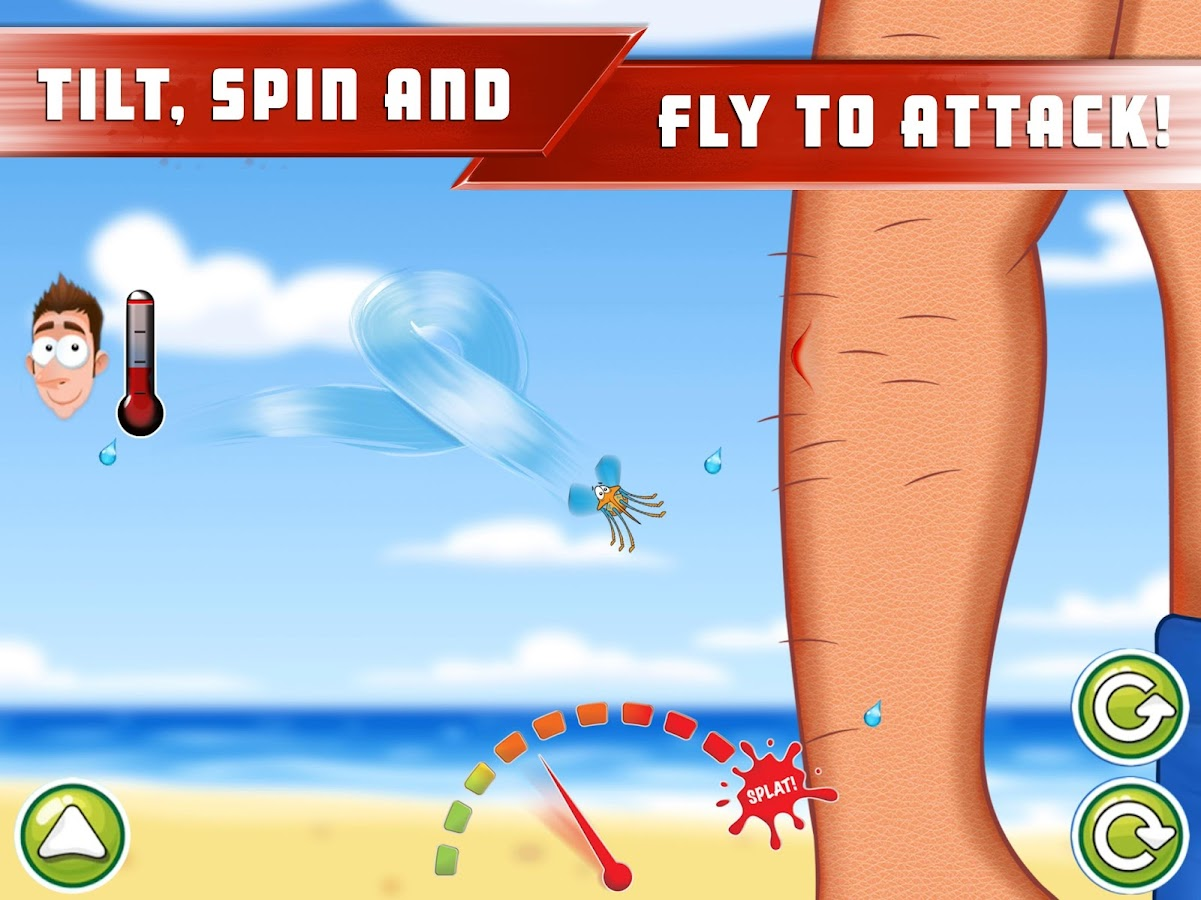 Mozzy Lander - Bug Attack FREE- screenshot