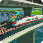 Train Simulation Free Ride 3D: train games