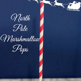 North Pole Marshmallow Pops.
