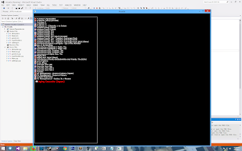 Photo: Getting somewhere now with this Arcade Emulator Front End / Learn C++ project. Dosn't look like much at the moment but that's a scrollable list of about 37,000 roms! and it filters to show only USA Super Nintendo games or every systems Japaneses Games instantly! Once I get a little more complete I will throw up a video on youtubes.