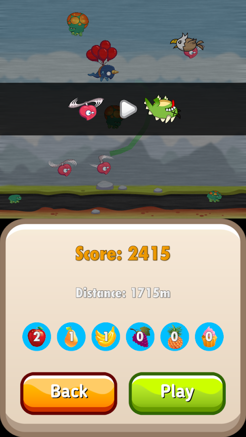 Munch Race- screenshot