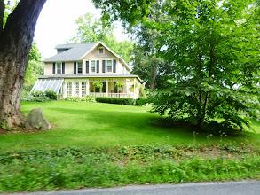Photo: Day 49 Farmington to Oneida Shores Lake NY August 6 2013 Country home