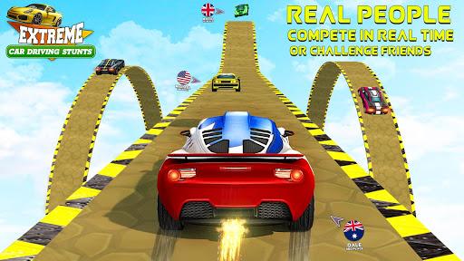 Extreme Car Driving Stunt GT Racing City Simulator apklade screenshots 1