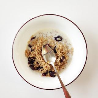 Healthified Breakfast Rice Cereal