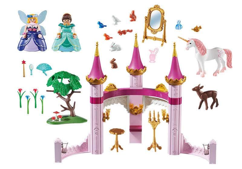 Contenido de Playmobil® 70077 Marla en el Palacio Cuento de Hadas