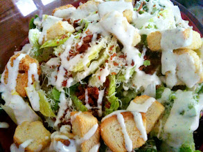 Photo: 003/366 - Caesar salad for lunch :)