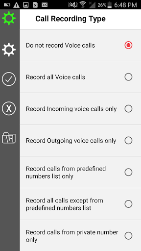 call recording : automatic Call Recorder & manager 9.0 screenshots 7