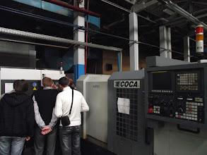 Photo: Экскурсия о заводу началась с осмотра  высокотехнологичного цеха оснащёнными
