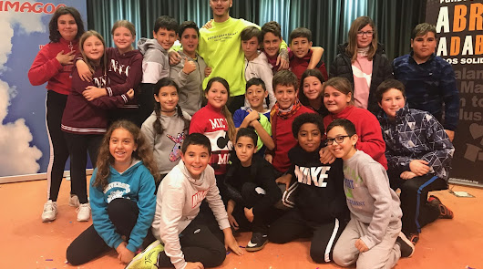 RVFV visita a los más pequeños en el Hospital Universitario Torrecárdenas