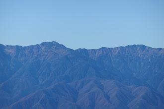 空木岳・赤梛岳など