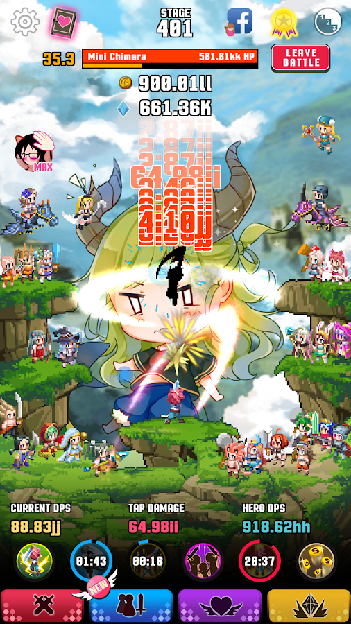 Attack on Moe - Tap Defender- screenshot