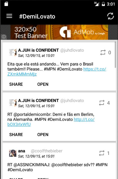Demi News- screenshot