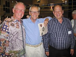 "Photo: The ""Vodka Boys"" Tent representatives from the 1950's- Henry Briggs, Bob Sitsky & Ian Groden."
