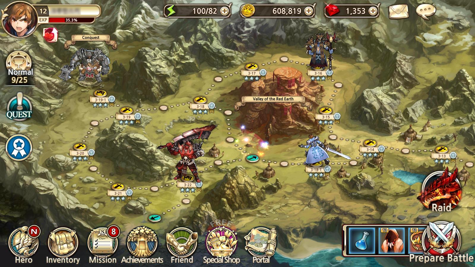 Kết quả hình ảnh cho king's raid