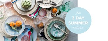 3-Day Summer Meal Plans - Facebook Cover Photo template