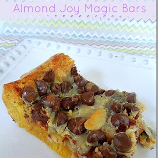 Almond Joy Magic Bars.
