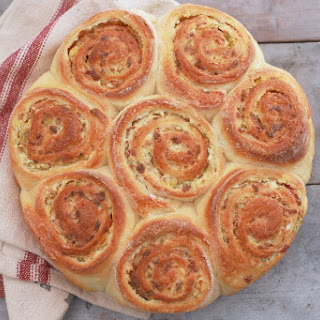 Crazy Dough Stuffed Bread (Bacon, Scallion and Cream Cheese) Recipe