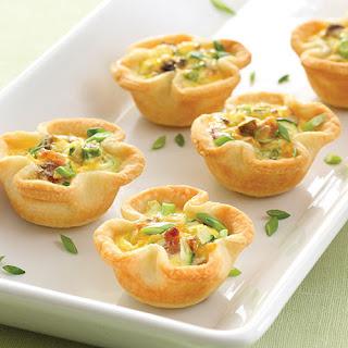 Savory Vegetable Mini Quiches.