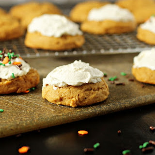 Soft Pumpkin Cookies with Maple Frosting Recipe