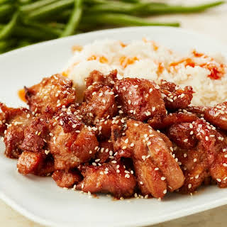 Delicious and Easy Bourbon Chicken.