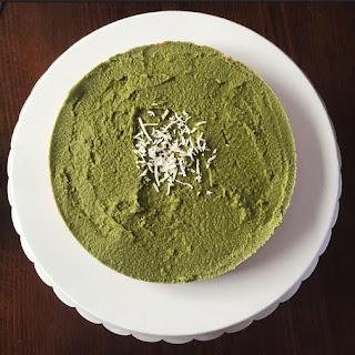 Matcha Vegan Cheesecake