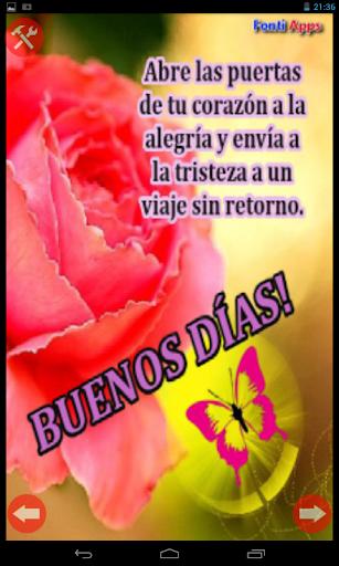 скачать Frases Buenos Dias Con Flores Google Play Softwares