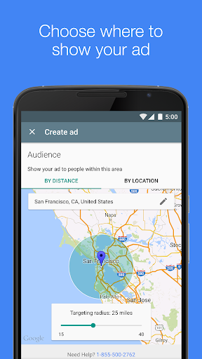 AdWords Express screenshot 2
