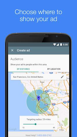 AdWords Express Screenshot