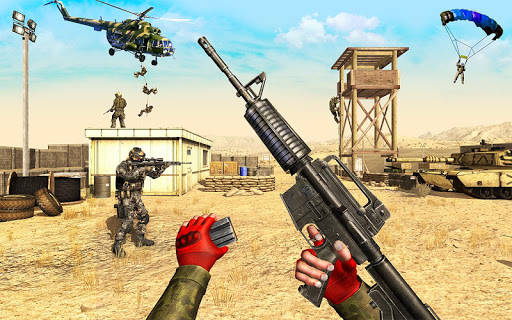 Code Triche Counter Terrorist Shooting Strike: Commando Games APK MOD (Astuce) screenshots 1
