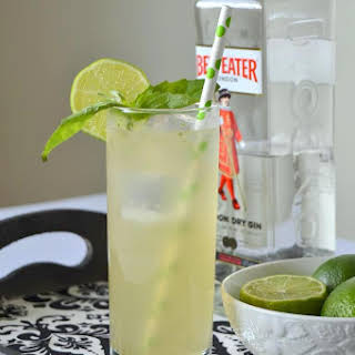 Basil Ginger Cooler.