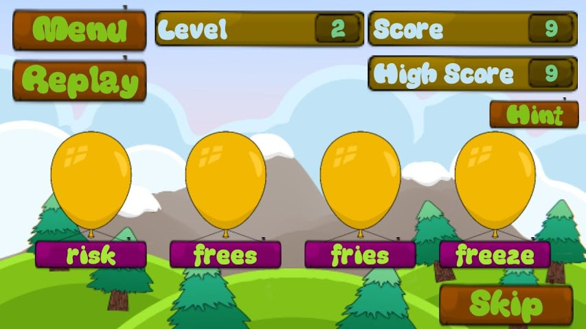 android 3rd Grade Sight Words Screenshot 2