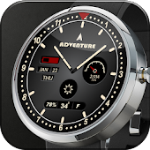 Adventure Analog Watch Face
