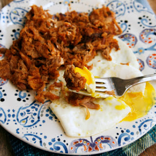 Leftover Pulled Pork with a Fried Egg Recipe