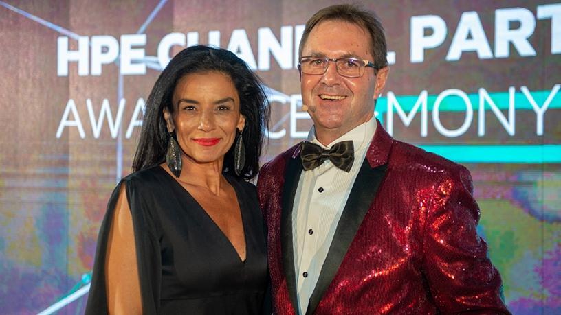 Sherifa Hady and Leon Erasmus.